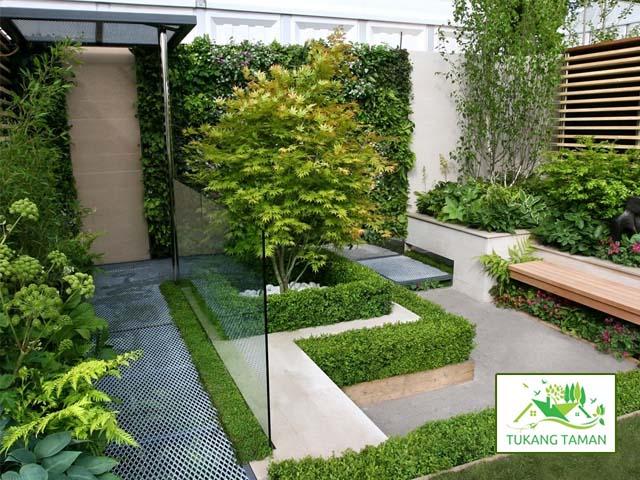Gambar taman minimalis di Sidoarjo