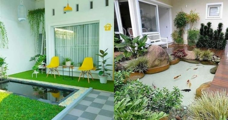 Rekomendasi Jasa Tukang Taman Surabaya : Desain Kolam Ikan Minimalis