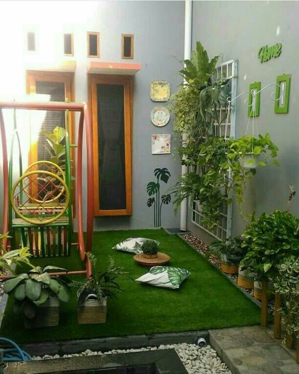 Inspirasi Desain Taman Ala Tukang Taman Minimalis Mojokerto